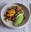 Beauty Food : salade de riz rouge, mangue et avocat